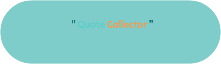Quote Collector header: banner with title